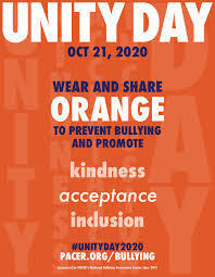 Unity Day- Tomorrow