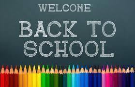 Welcome Back 7th-12th Graders