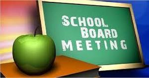 School Board Meeting- Monday, April 27