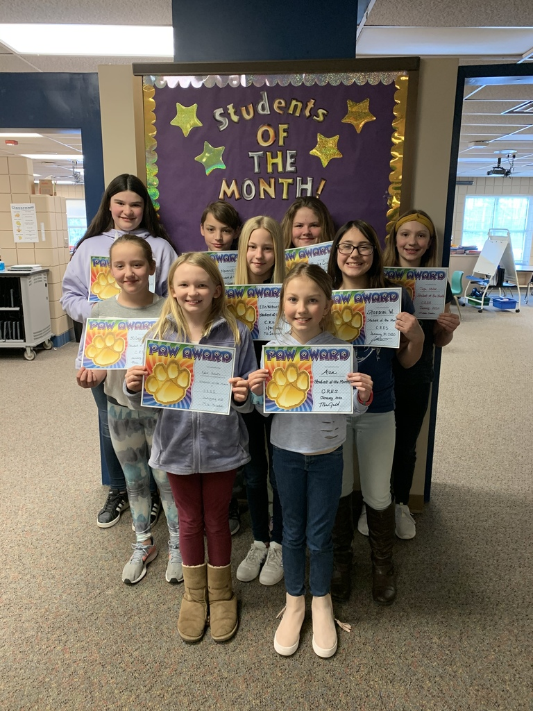 Student's of the month