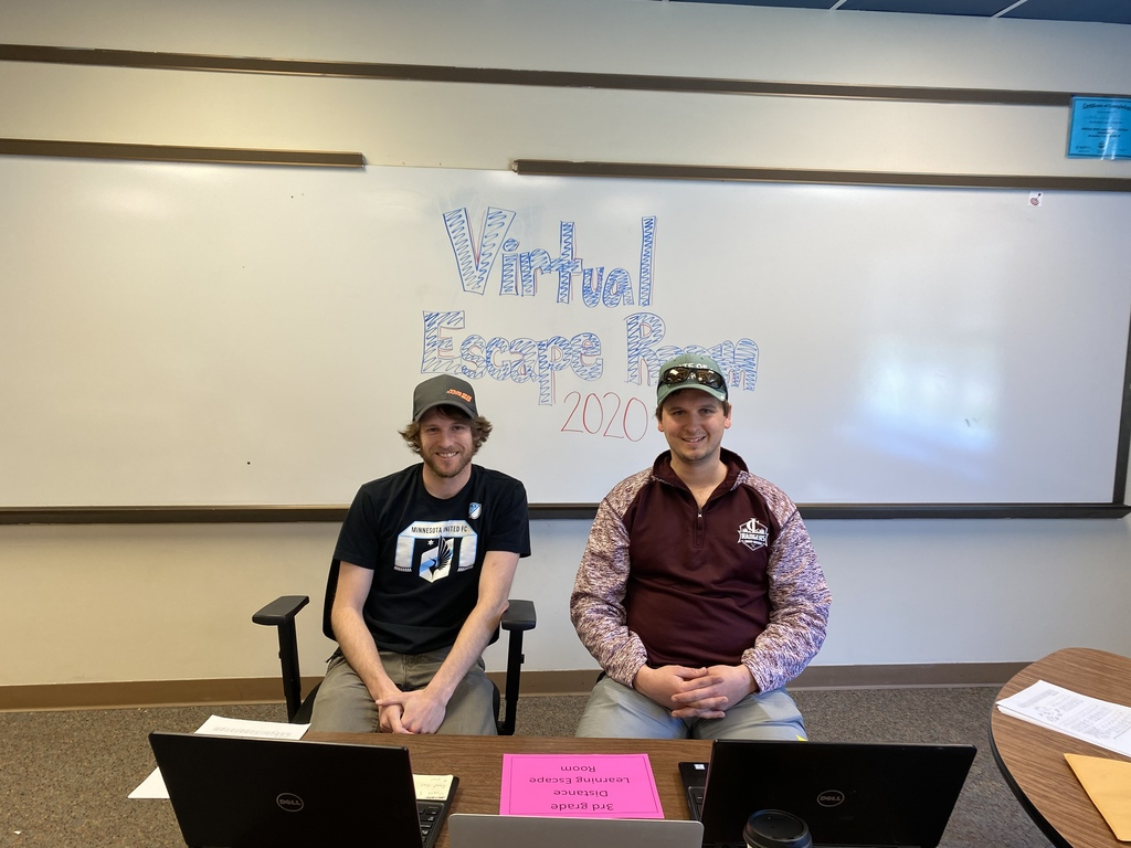 two male teachers with virtual escape room