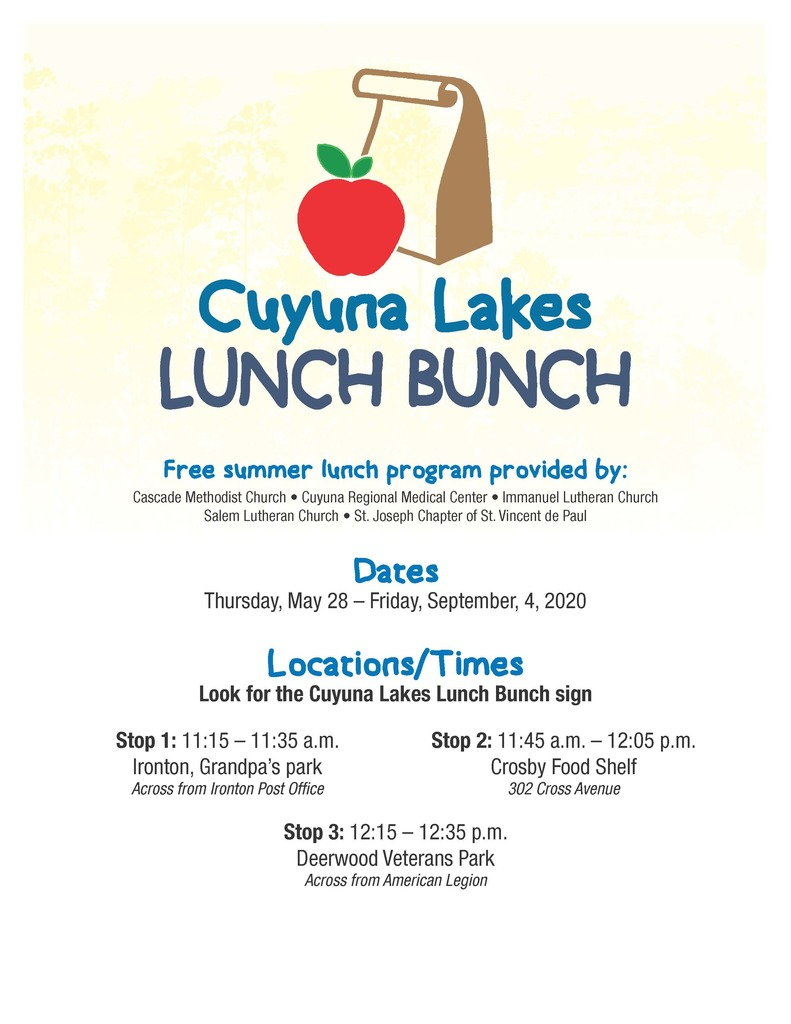 information about lunch bunch