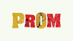 clip art prom in red and yellow